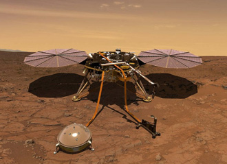 InSight Mission: La sonda InSight su Marte