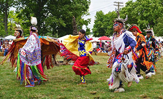 Native American Mid summer Pow wow