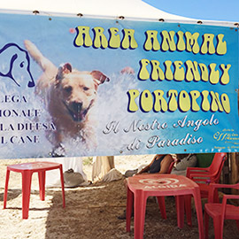 La spiaggia di Porto Pino ''Animal Friendly''