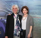 President of the CERN Council, Ursula Bassler and Director-General of CERN, Fabiola Gianotti (image: CERN).