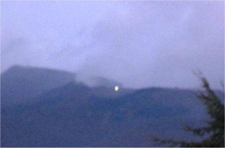 Uno dei tanti avvistamenti UFO segnalati sul Monte San Vicino
