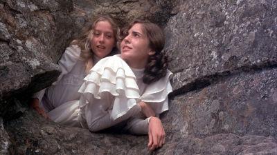 """Una scena del film """"Picnic a Hanging Rock"""""""