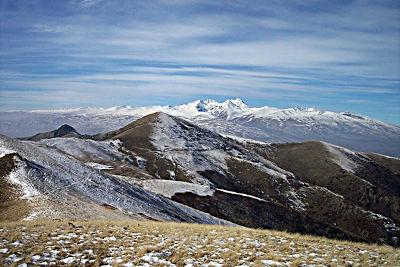 Il monte Aragats