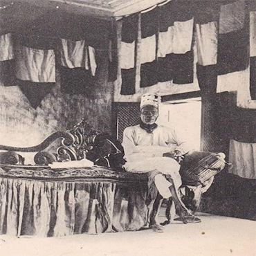 Re Toffa I, uno dei grandi governanti del regno di Hogbonou