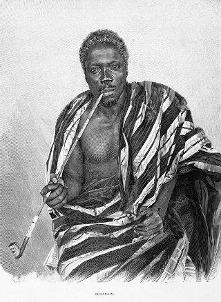 Il Re Behanzin, uno dei grandi governanti del regno di Dahomey