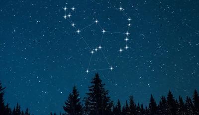 La Costellazione di Orione così come si vede ad occhio nudo