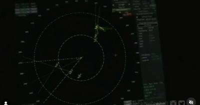 Segnale radar degli oggetti avvistati dalla portaerei Omaha a conferma della realtà dell'avvistamento