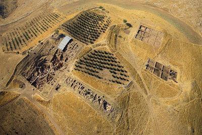 Vista aerea del sito archeologico di Gobekli Tepe - foto da German Archaeological Institute