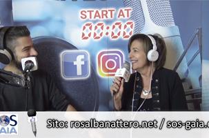 Intervista a Rosalba Nattero su Radio Veronica One